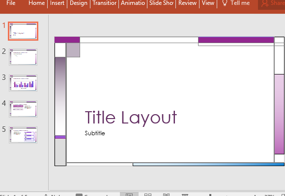 Powerpoint modelo abstrato vertical e horizontal lines abstract temtico powerpoint template with roxo acento toneelgroepblik Choice Image