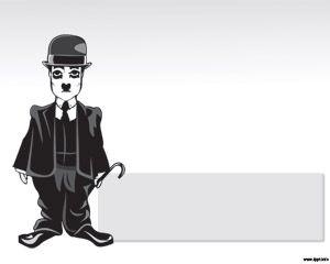 Charles Chaplin PPT Template
