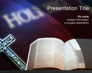 Holy Bible PowerPoint Template