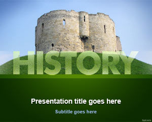 History Education PowerPoint Template