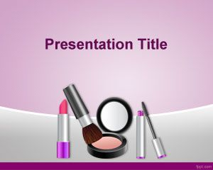 Cosmetics PowerPoint Template