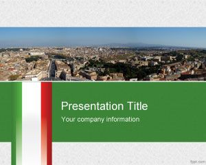 Italian PowerPoint Template