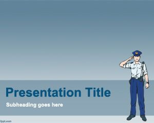 Polizia PowerPoint Template