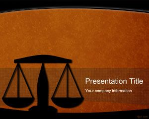PowerPoint modelo Legal
