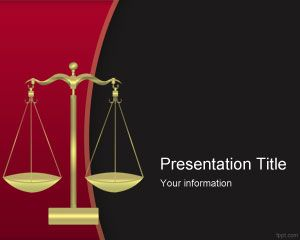 Criminal Justice PowerPoint Template
