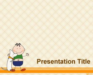 Awal Template Childhood PowerPoint