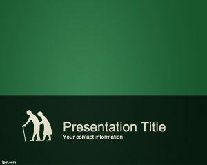 Template senior PowerPoint