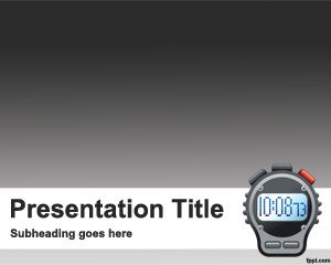 Countdown Powerpoint Template