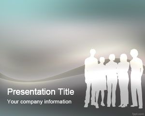 PowerPoint Template sosial