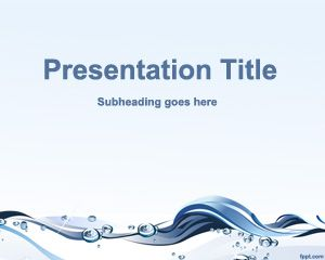 Water Conservation PowerPoint Template