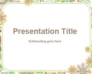 Kustom PowerPoint Template