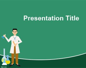 Chemia PowerPoint Template