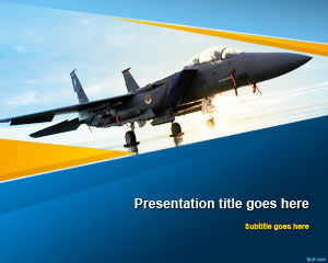 Modèle PowerPoint Aviation