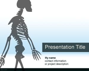 Anatomie PowerPoint Template