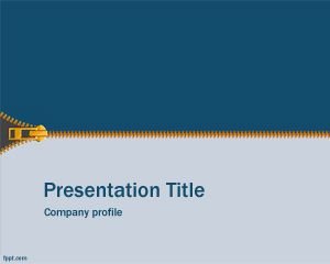 Zip PowerPoint Template