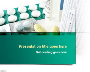 Tabletten Powerpoint-Vorlage
