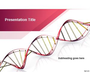 Szablon Genetic Science PowerPoint
