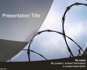 Prison PowerPoint Template