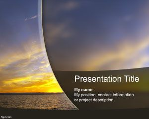 Sunset PowerPoint Şablonu