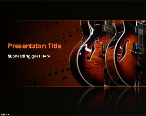 Blues Music PowerPoint Template