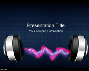 Radio Music PowerPoint Template