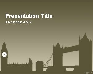 London Powerpoint-Vorlage