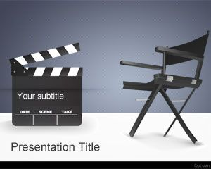Template filme Director PowerPoint
