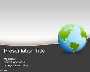 Geography PowerPoint Template