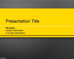 Prominent PowerPoint Template