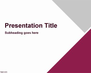 Direksi PowerPoint Template