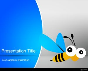 Honeybee PowerPoint шаблоны