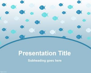 Plenty of Fish PowerPoint Template