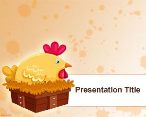Template PowerPoint Hen