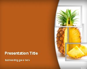 Nanas PowerPoint Template