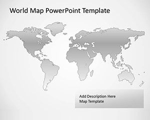 Free Vector Map of the World for PowerPoint