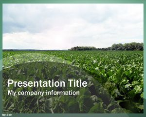Utilaje agricole PowerPoint Template