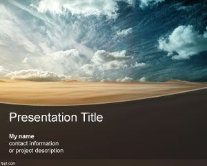 Arid PowerPoint Template