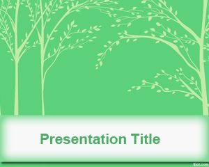 Tree Leaves PowerPoint Template