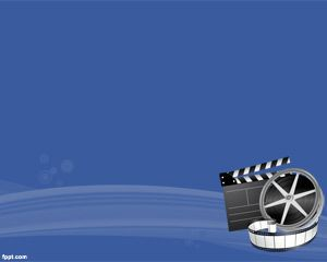 Film Arkaplan PowerPoint Şablon
