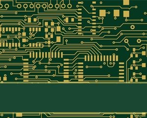 Circuit PowerPoint Template Background