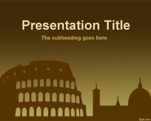 Roma PowerPoint Format