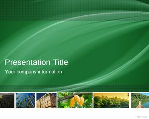 Forestry PowerPoint Template