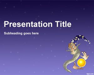 Wizard Design PowerPoint Template