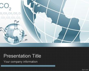 Template PowerPoint CO2