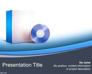 Template Computer Software PowerPoint