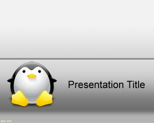 PowerPoint Template Linux