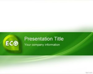 Template Eco-friendly PowerPoint