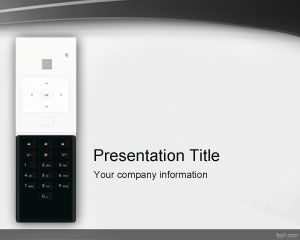 Remote Control PowerPoint Template