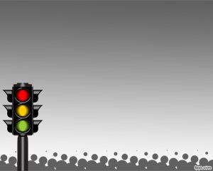Traffic Light System PowerPoint Template