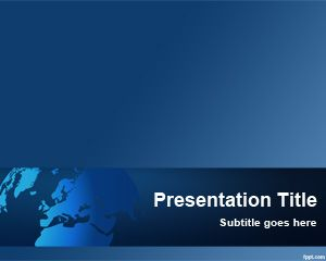 Modelo Global Software PowerPoint